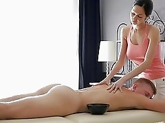 RubATeen  Hot Russian Gives A Dick Massage