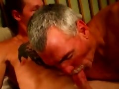 Straight mature bears first gay sixtynine