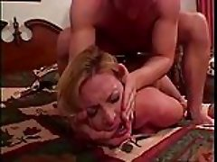 Busty slut takes cock in her ass