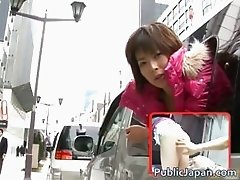 Horny Nana Natsume Fucked In A Van part5
